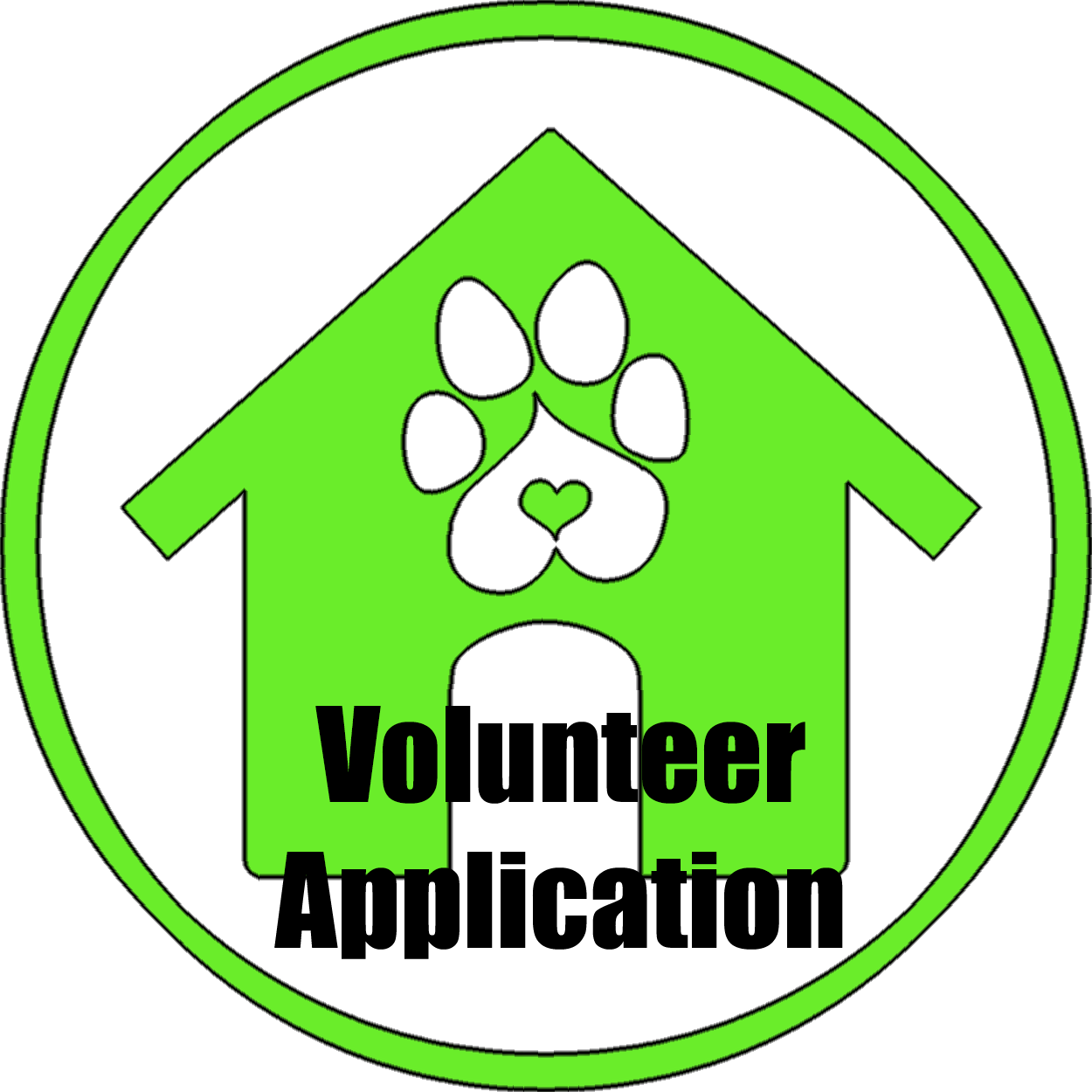 HOUSEvolunteer appliction
